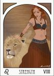 Strength Tarot by MeredithSerena
