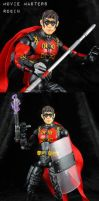 Robin John Blake custom action figure by Jin-Saotome