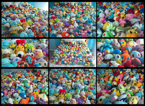 My Pokedoll Collection 10 by Fishlover