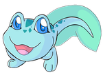Neopets - Happy Baby Nimmo by heatbish