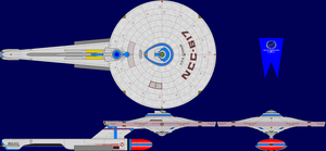 USS Cygnus Refit Upgrade Multi-View by captshade