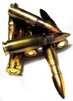 Bullet by punctured