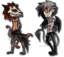 Halloween Adopts Auction [CLOSED] by MachineRaven
