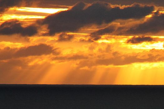Sunrise in St Cyrus, 3 by Nigalius