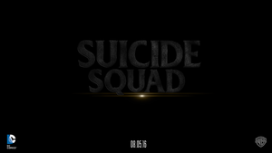 Suicide Squad movie logo by chronoxiong