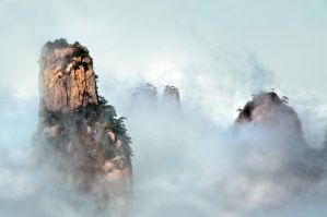 Huangshan -24 by DawnRoseCreation