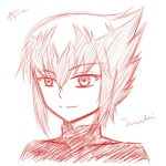 Red Juudai Sketch by Awesomeness02