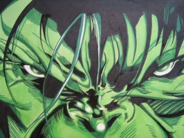 THE HULK UNLEASHED by ARTIEFISHEL79