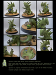Rock Smash Tyranitar Custom Sculpture Commission by MedusaSculpts