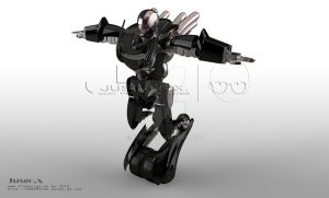 THE ROBOT - VOLCANLC by Jusgo