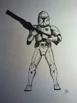 Clone Trooper by Menadis