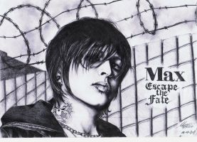 Max Green - Escape The Fate by maga-a7x