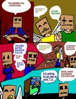 False Illusion Issue One pg 2 by darkparade