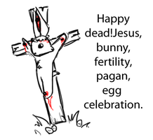 Easter Is Inbred by Weretiger101