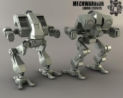MWLL Vulture MW4 version by MechLivingLegends