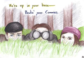 First Class---Those Darn Commies by BrerBunny13
