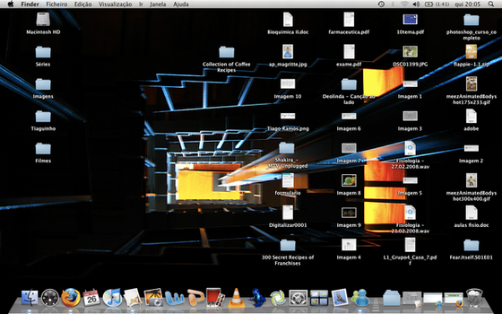 Mac OSX Wallpaper by Tigui