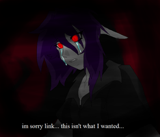 Shadow Link {fake anime screen shot} by evilsushicat