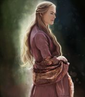Cersei Lannister by RussianVal