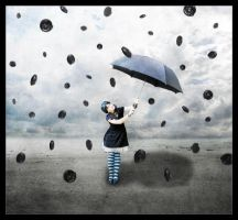 Raining Liquorice by Ninelyn