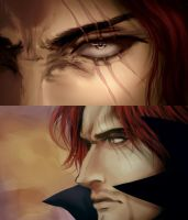 Akagami no shanks - screencap redraw by asmafadhel