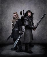 Kili and Fili Original by OneofakindKnight