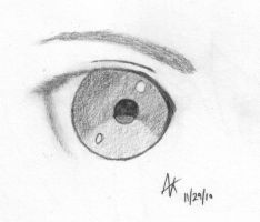 An oddly attractive eye? by minainerz