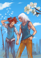 KH:The Spring is finally here. by Anyarr