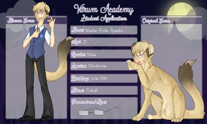 Vitrum Academy - Wes by Stais