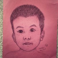 Baby Mason (Speed Drawing) by sonicJKevin