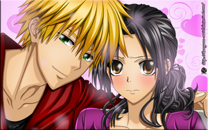 Misaki And Usui Colored by Kurogane-Raziel
