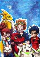 Digimon Tamers by Koza-Kun