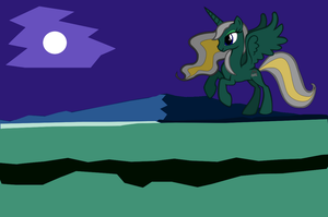 Her Highnes Mons Caligo by night by Nalimba