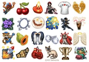 Gift Icons 4 for Hi5 by feliciacano