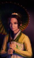 Toph Bei Fong by reygay