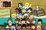Total Drama Island Campers by kiro-kina