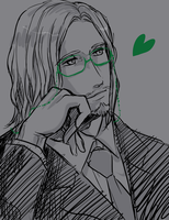 Suit and Glasses - Leonardo by Nakamon
