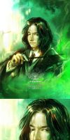 Young Snape by liarsliar
