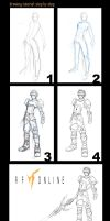 RF Online: Drawing Tutorial by ladyfish