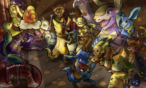 PMD Collab with Lyraeli by Haychel