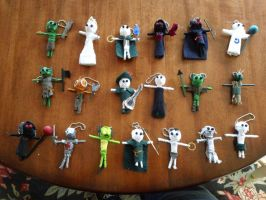 Voodoo Dolls by SpenceOlson