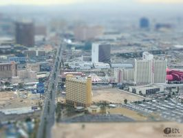 Vegas-from-Stratosphere-tiltshift by ArtOfPedL