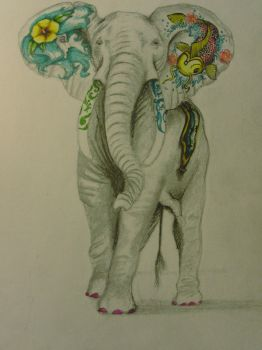 Ellyphant by AlissaBishop
