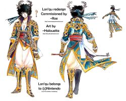 Commission -Lon'qu redesign- by Halouette