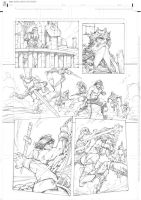 Conan vs Red Sonja page 3 by RandyGreen