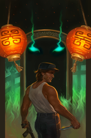 Big Trouble in Little China #12 by NickRoblesArt