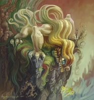 Curly Dragon by AugustinasRaginskis