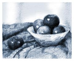 Still Life Sketch by SILENTJUSTICE