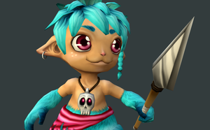 3D Character by Kaalii