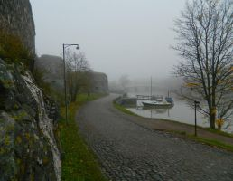 Somewhere in Suomenlinna by MissLumikki